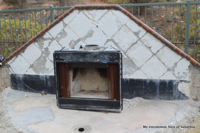 Outdoor Fireplace DIY