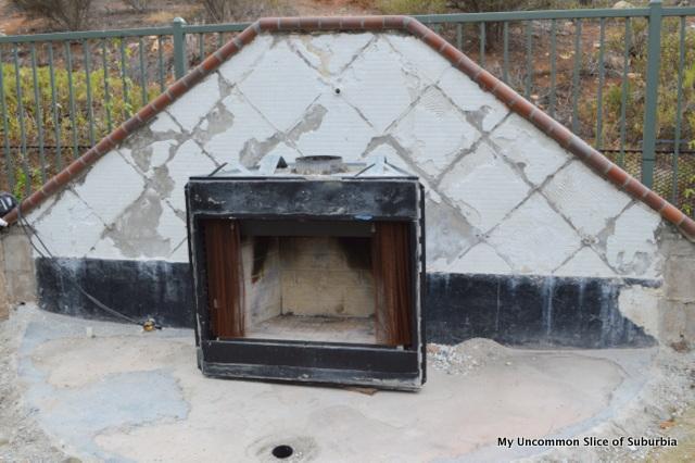 Outdoor Fireplace DIY