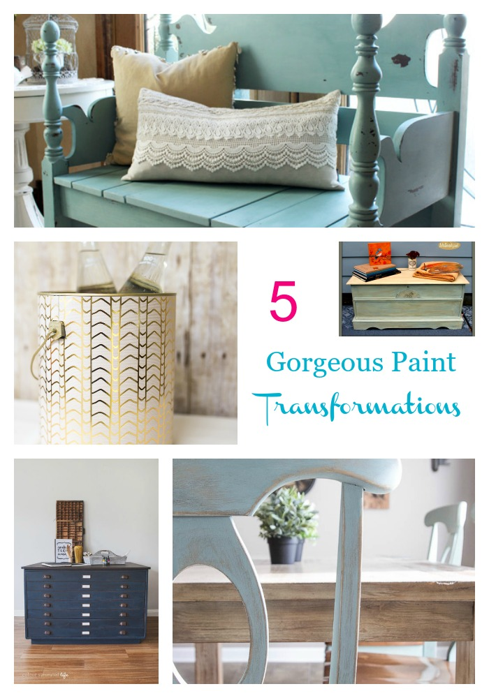 5 Paint Transformations