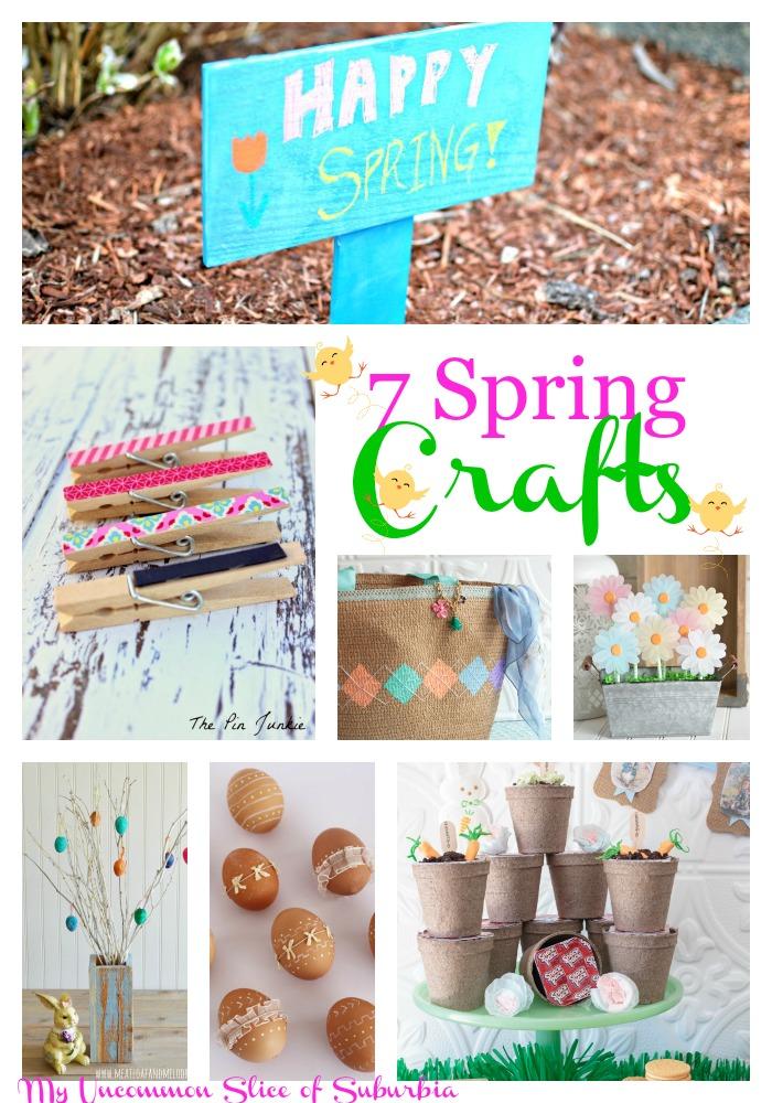 7 Spring Crafts