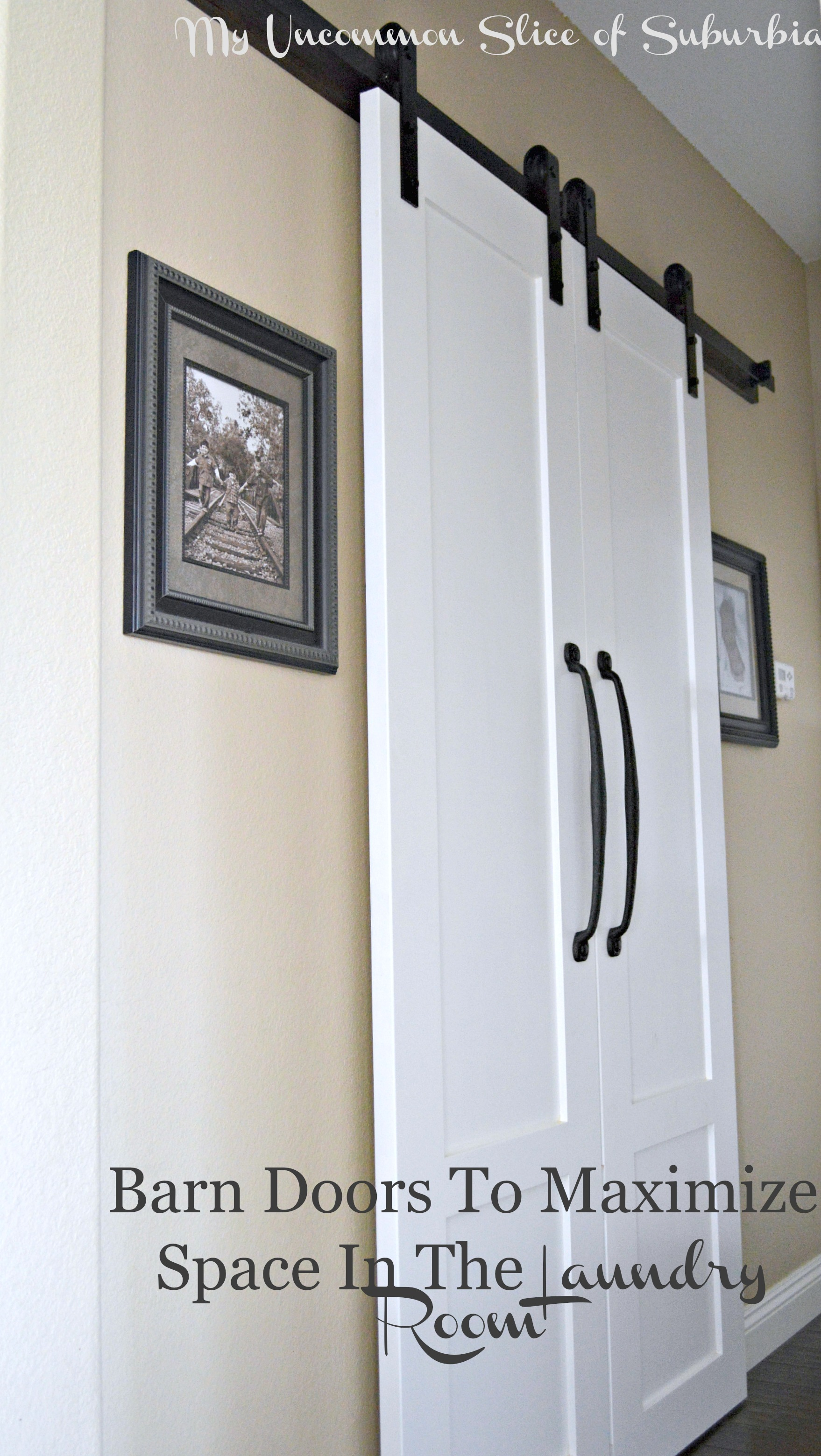 Barn doors for the laundry room - Closet door options for small spaces ideas ...