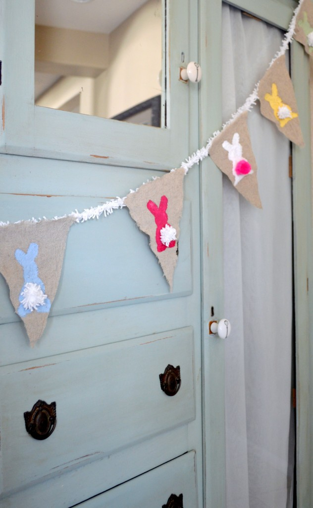 DIY Bunny Banner for Easter