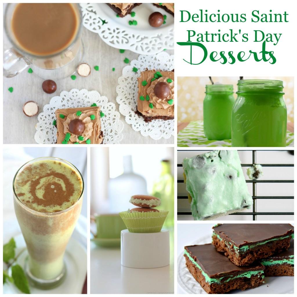 Delicious Saint Patrick's Day Desserts