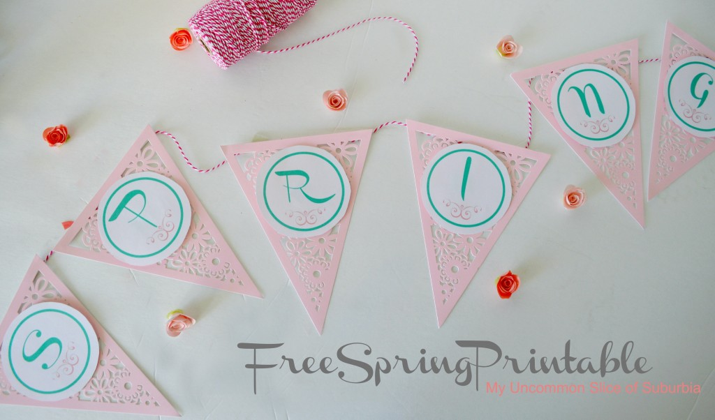 Free Spring Printable download