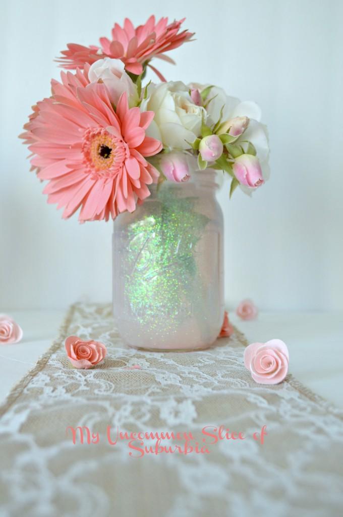 How to make a DIY Glitter Jar