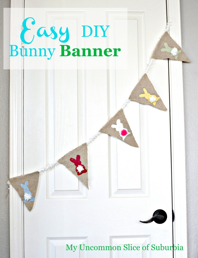 How to make a easy bunny banner