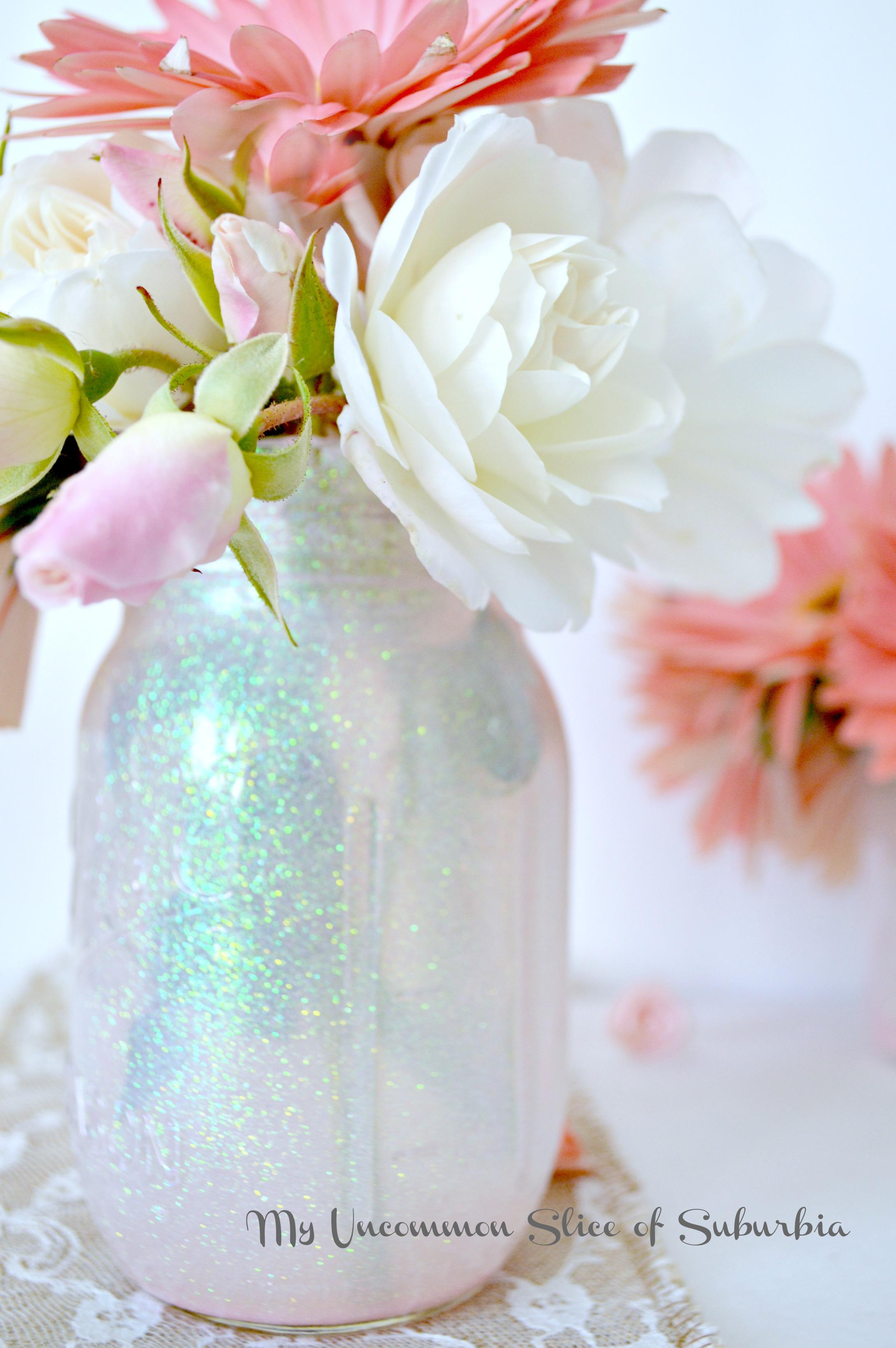 DIY Mason Glitter Jars
