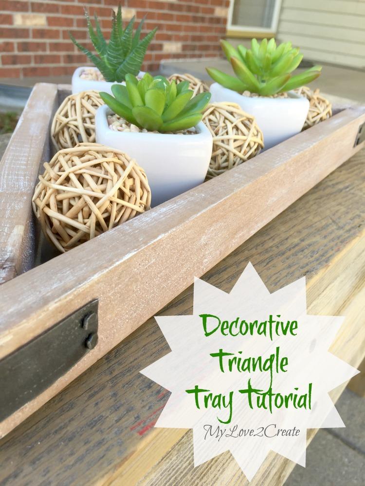 MyLove2Create, Decorative Triangle Tray Tutorial pin
