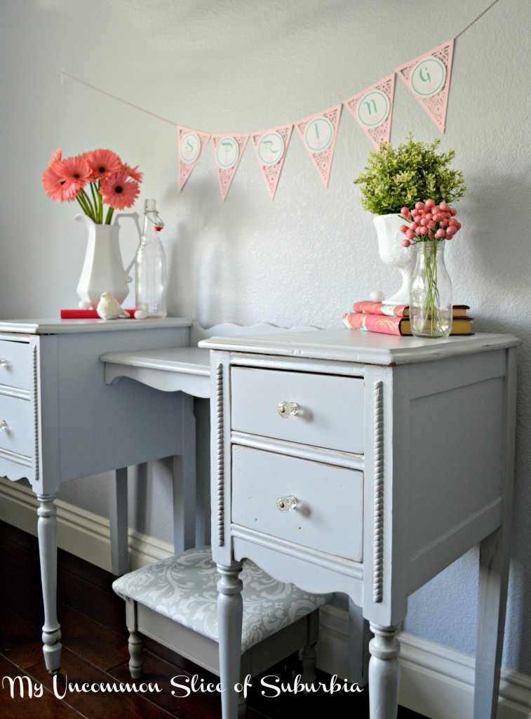Easy Spring Vignette and free printable