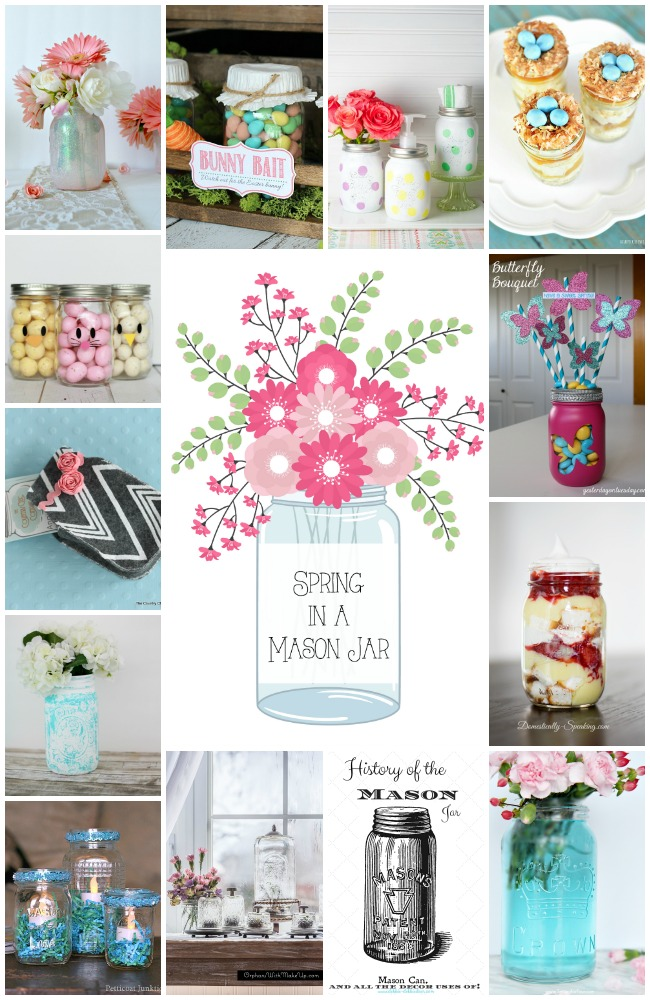 Spring in a Mason Jar Collage-2