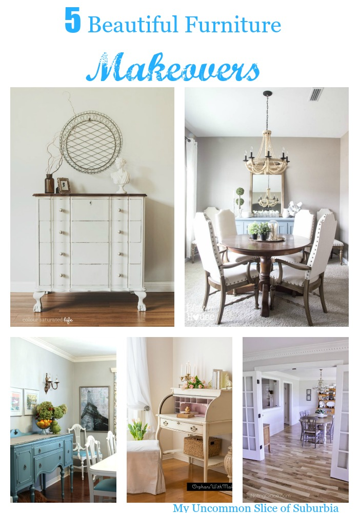 5 Beautiful Furniture Makeovers