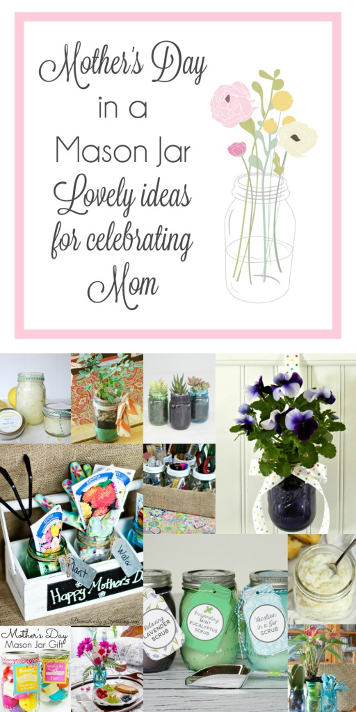 Mother's Day in a Mason Jar Main Graphic