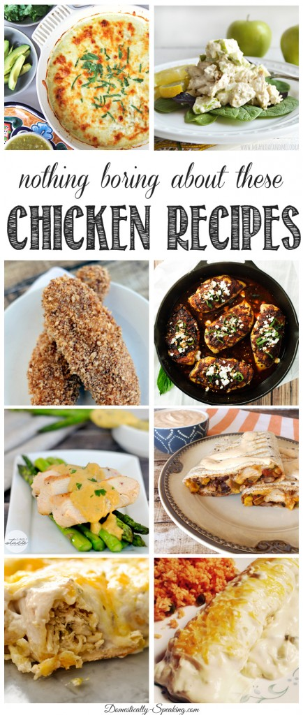 Nothing-Boring-About-these-Chicken-Recipes-from-Inspire-Me-Monday