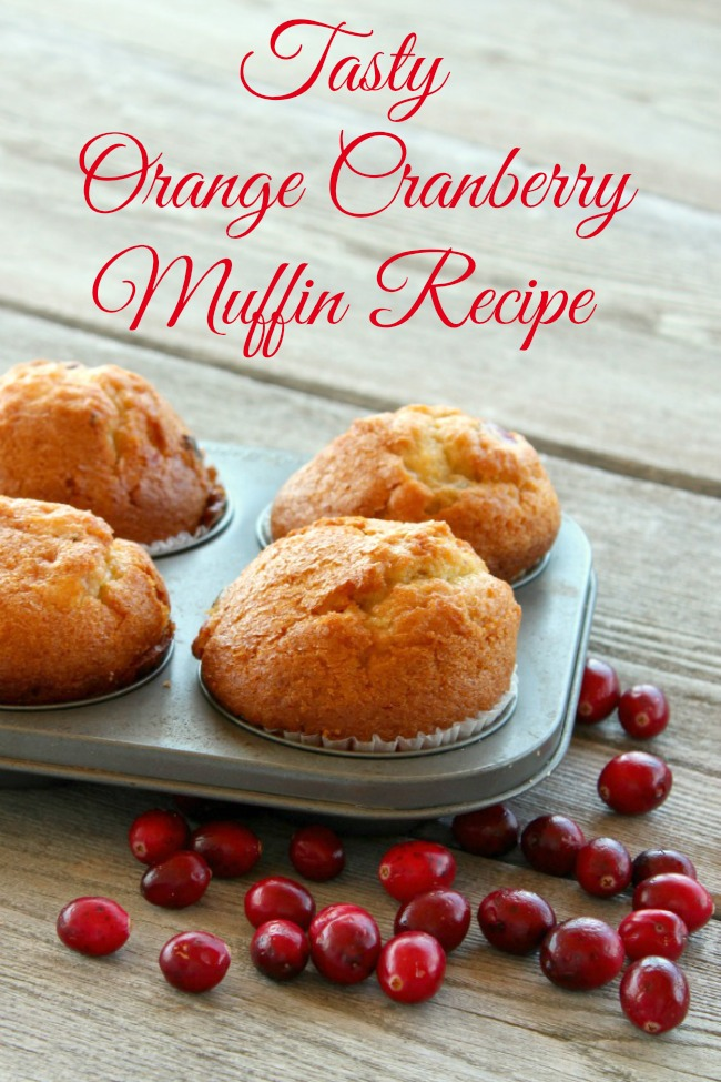 Orange-Cranberry-muffin