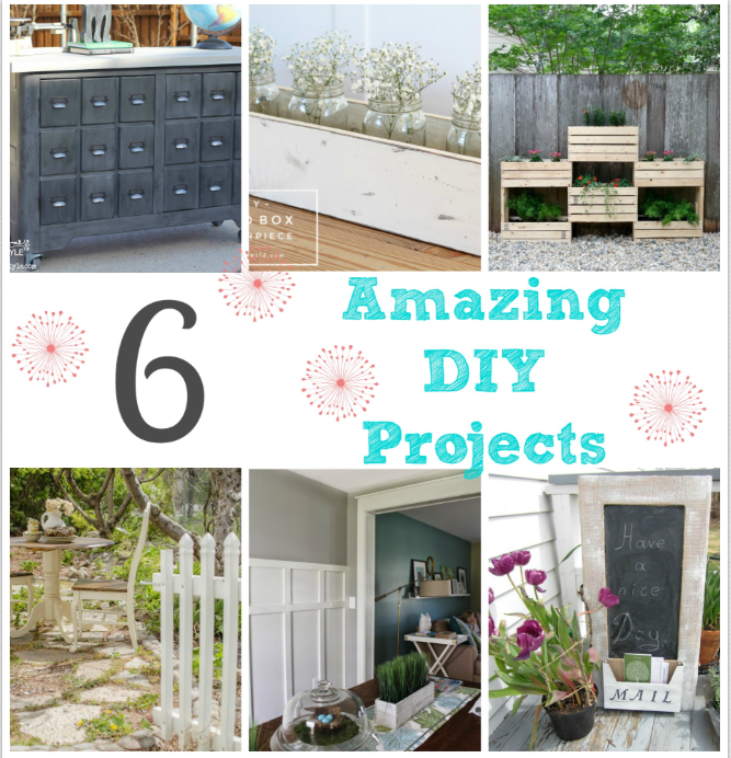 6 amazing diy projects
