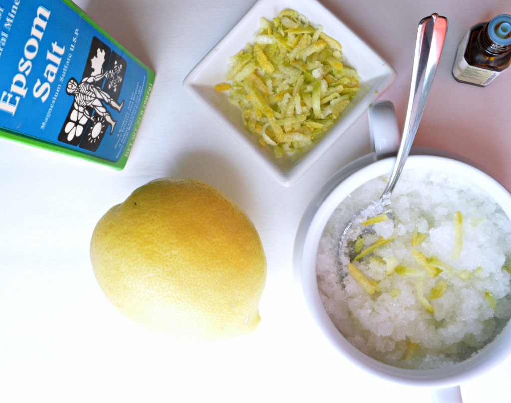 Step by step tutorial on how to make a wonderful Foot and hand Scrub