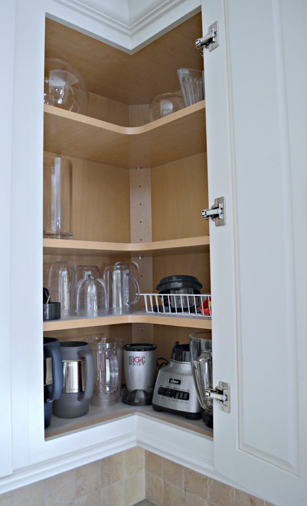 Upper Corner Cabinet for easy organization in the kitchen