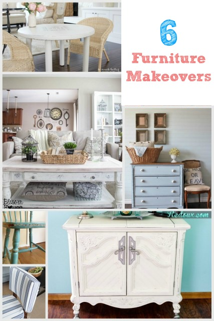 6 furniture makeovers