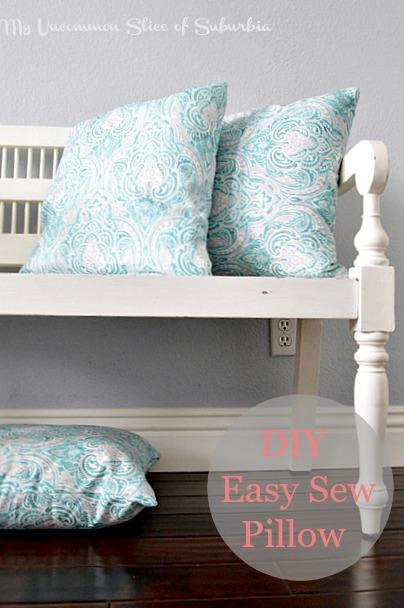 DIY Easy Sew Pillow
