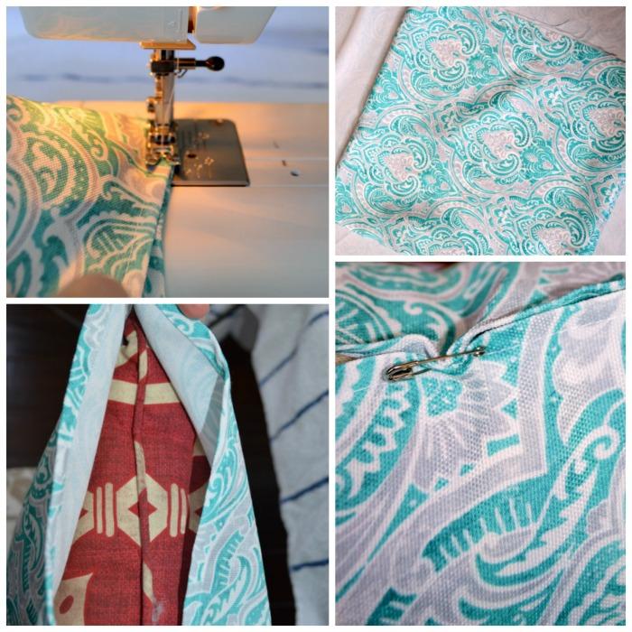 Easy sew pillows