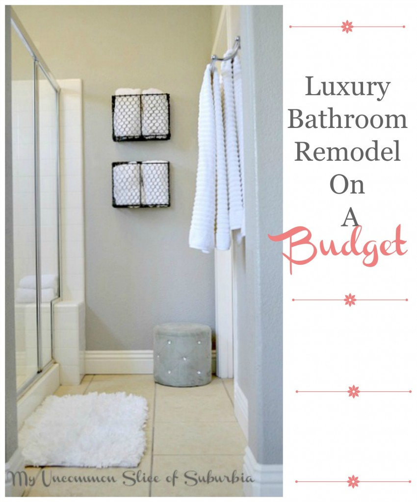 DIY Luxury Bathroom Makeover