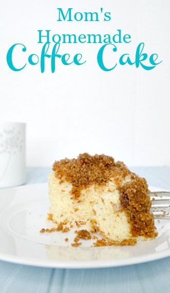 Mom's Homemade Coffee Cake