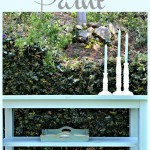 How to update furniture with Chalky Finish Paint