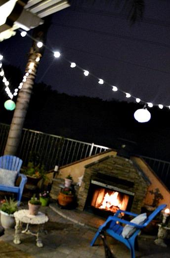 outdoor lights using christmas lights