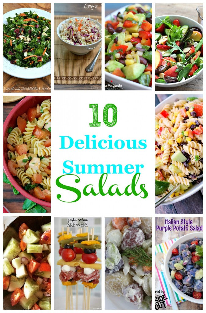 10 delicious summer salads