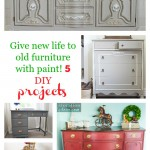 Give New Life To Old Furniture With Paint