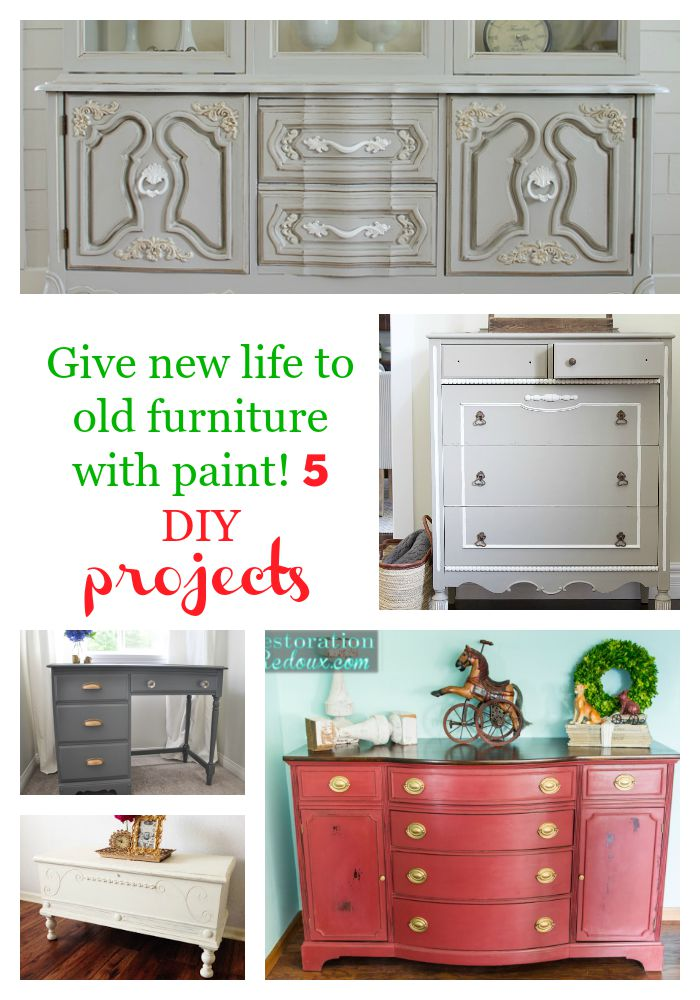 Give new life to old furniture