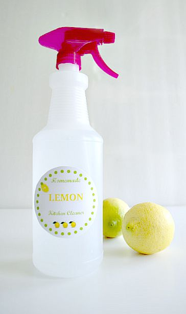 How To Make Homemade All Natural Kitchen Cleaner