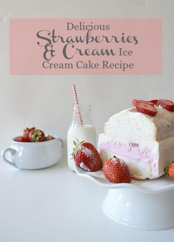 ice cream cake recipe so yummy