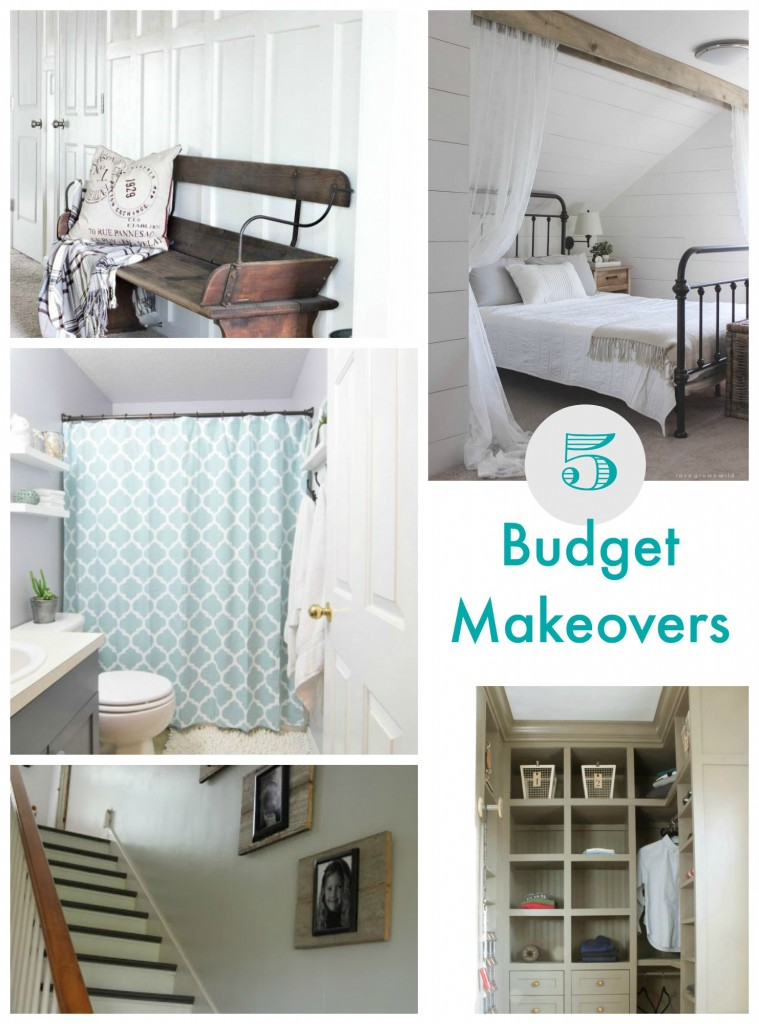 5 Budget Makeovers