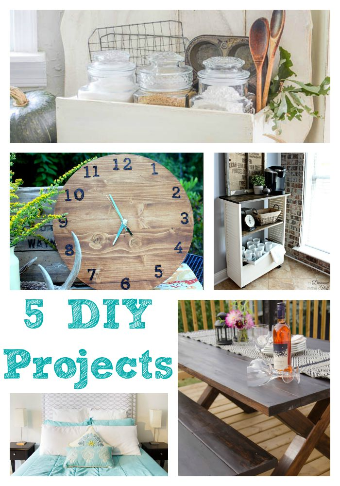 5 fabulous DIY projects you will want to try for yourself!
