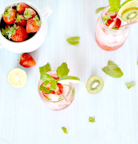 Delicious Strawberry Mojito Recipe