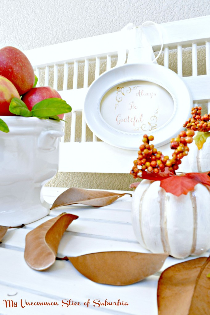 Fall vignette easy and simple