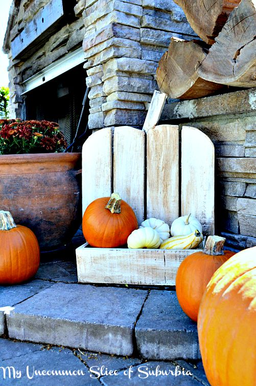 Make your own pumpkin holder, easy tutorial