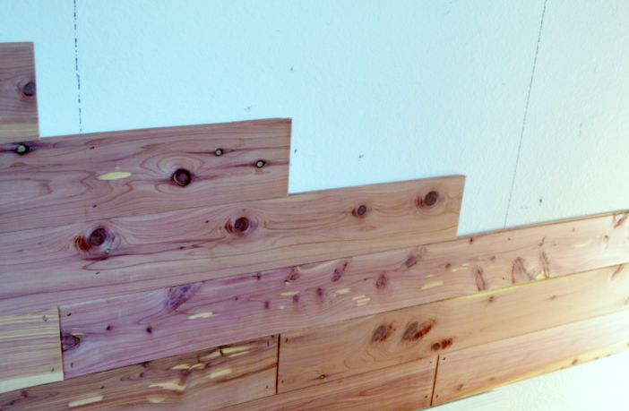 Step by step tutorial on how to install cedar planking