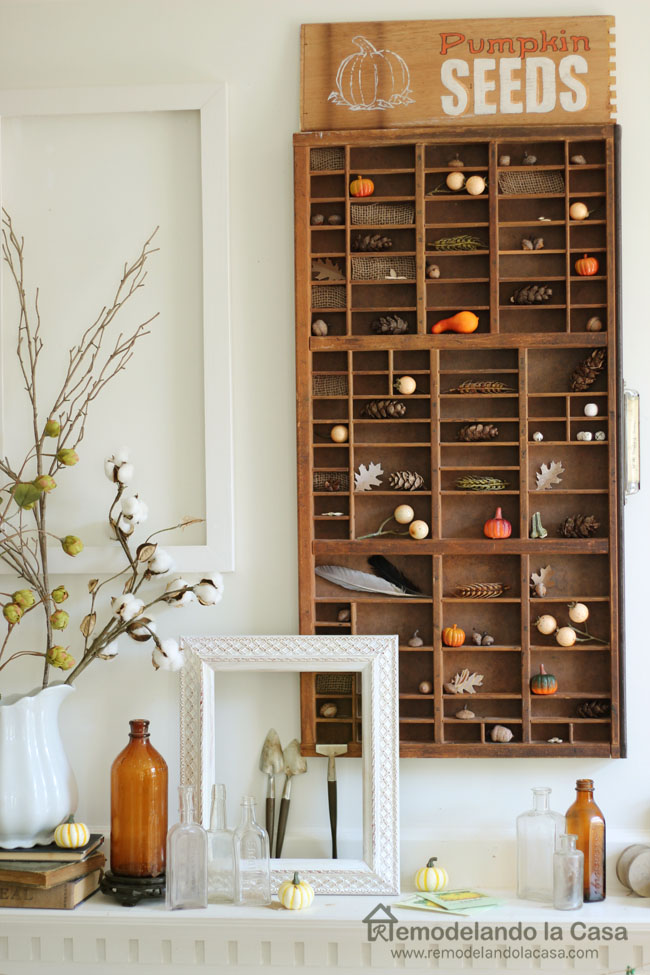 fall mantel with printers drawer3