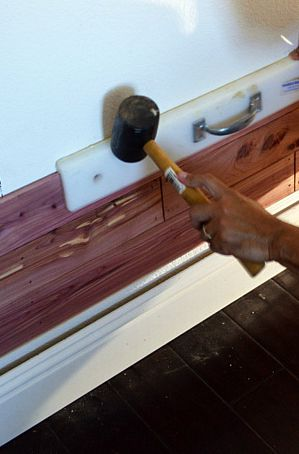 installing cedar planks step by step tutorial