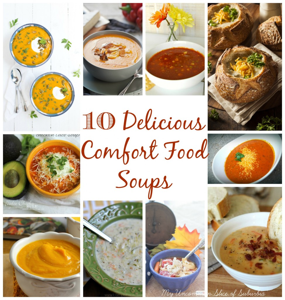 10 Delicious Comfort Food Soups