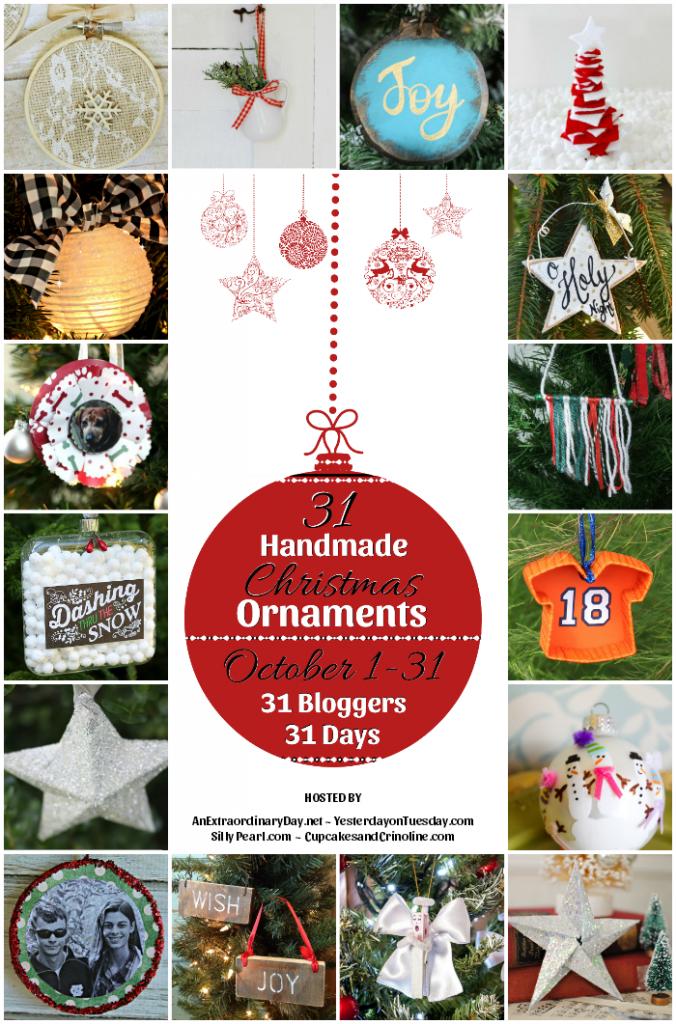 31 Days of Handmade Christmas Ornaments