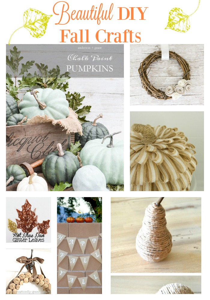 A collection of beautiful fall crafts you can make at home
