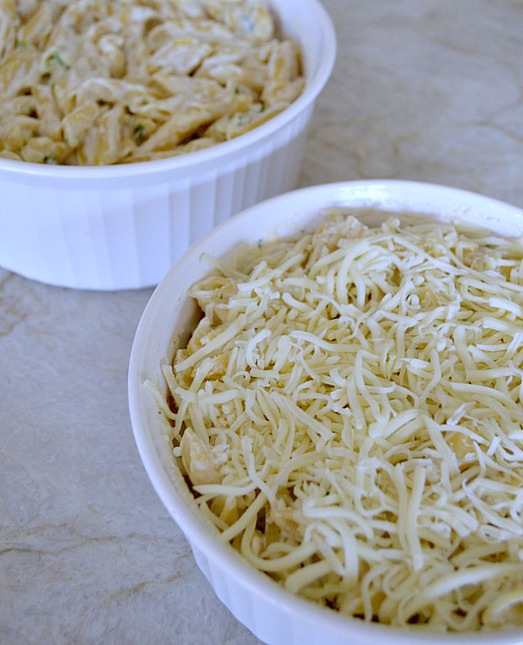 Easy alfredo pasta bake, cook one and freeze one