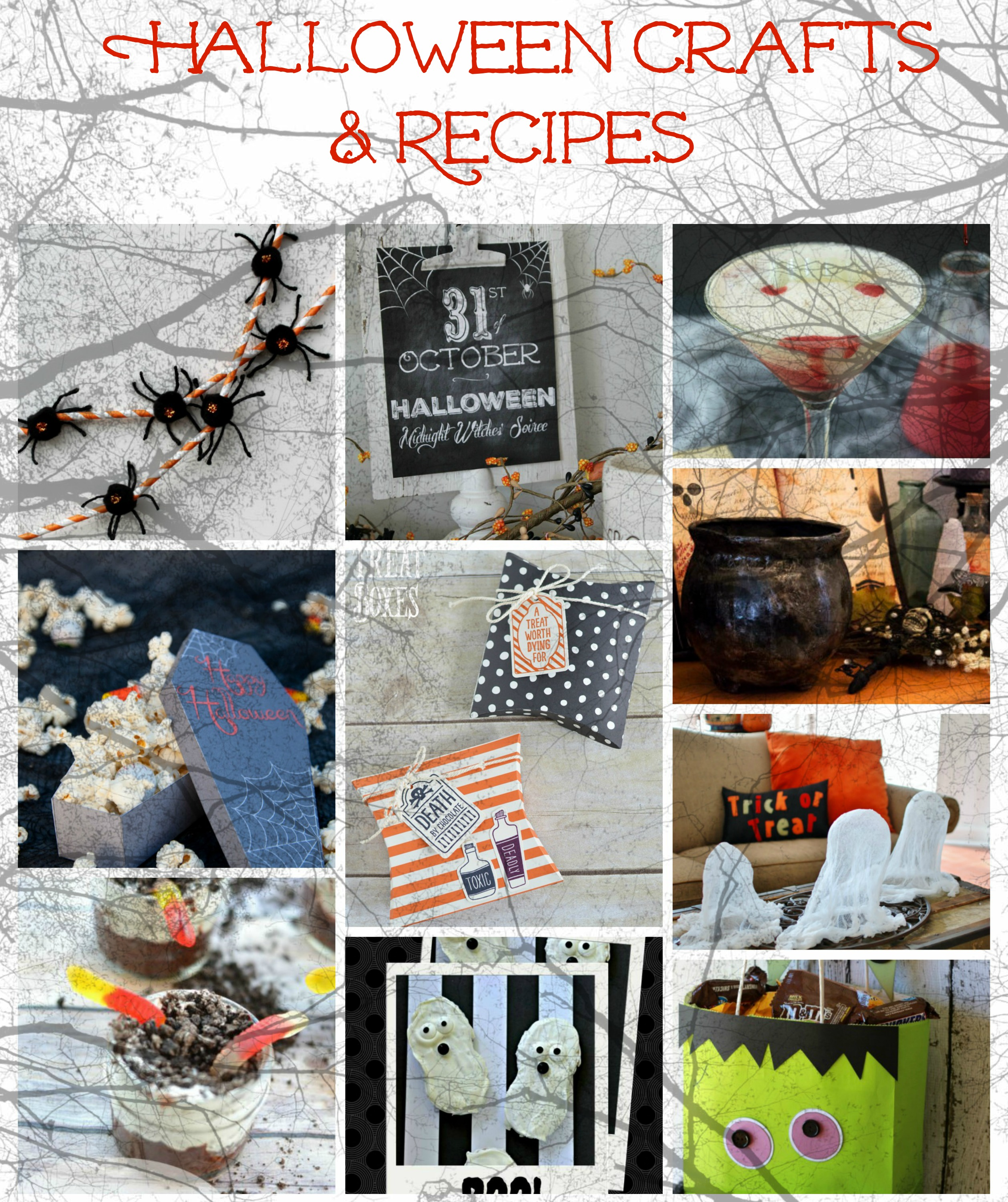 halloween crafts and recipes you can make at home - Halloween Crafts To Do At Home