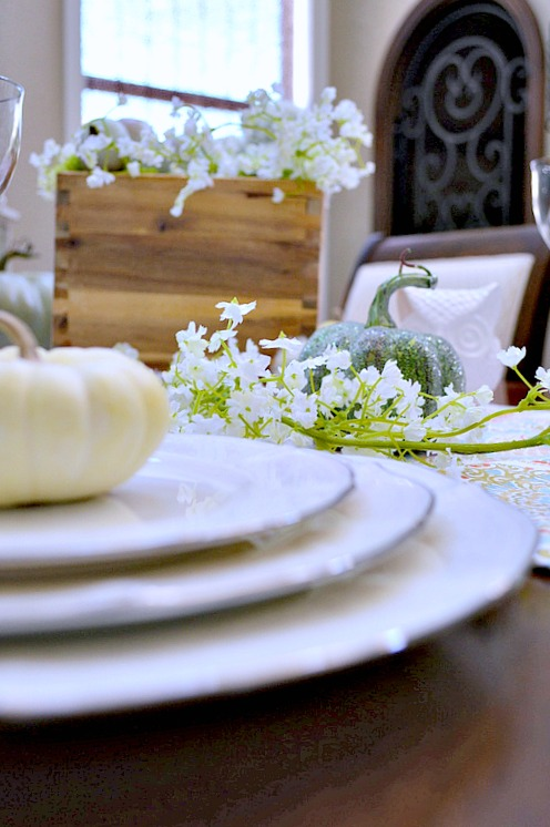 Pretty Tablesetting for thanksgiving