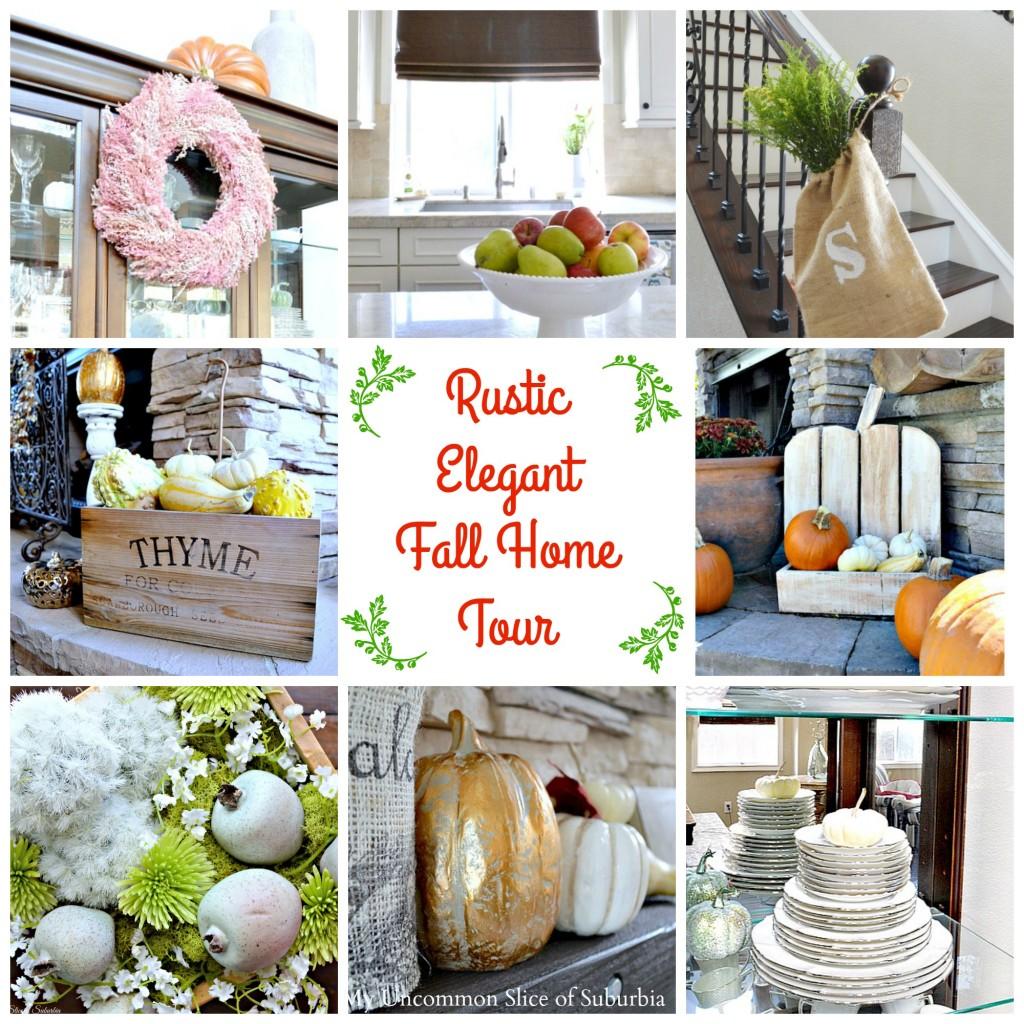 Rustic Elegant Fall Home Tour