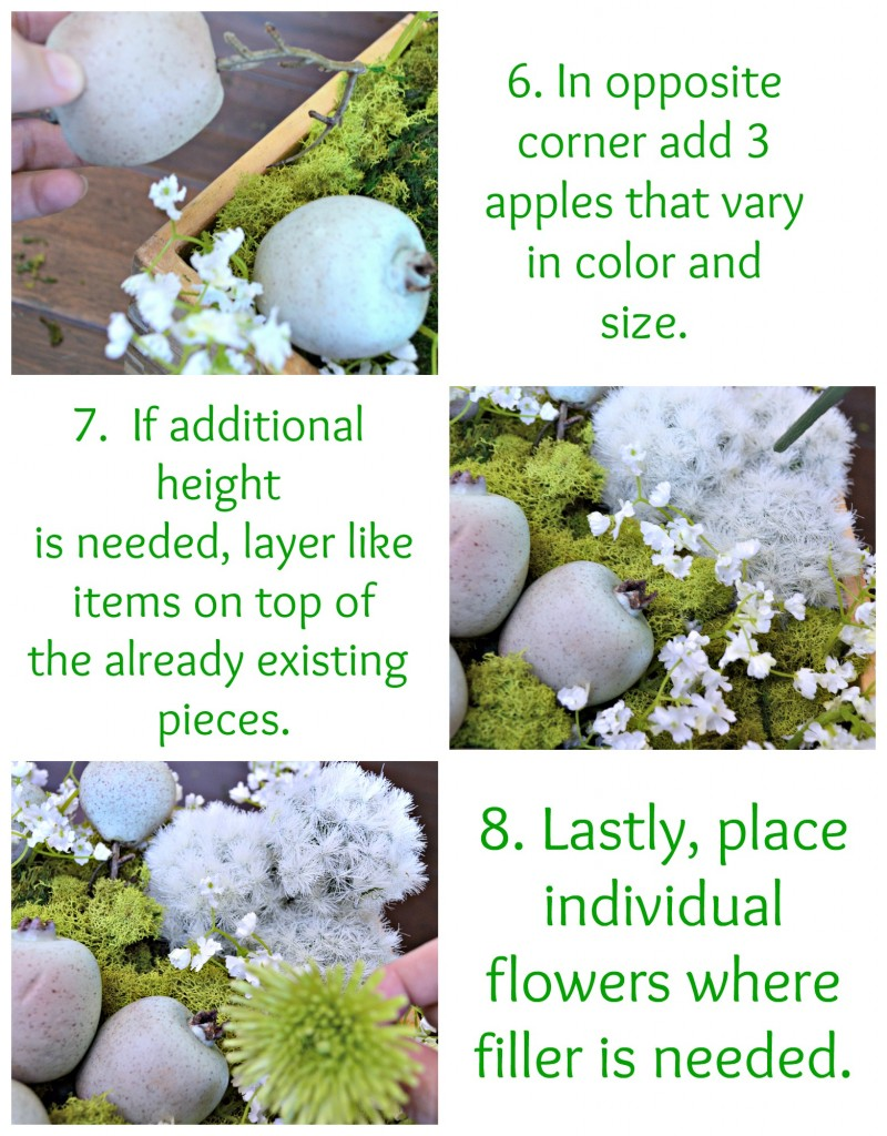 Step by step tutorial on how to make a 10 minute centerpiece