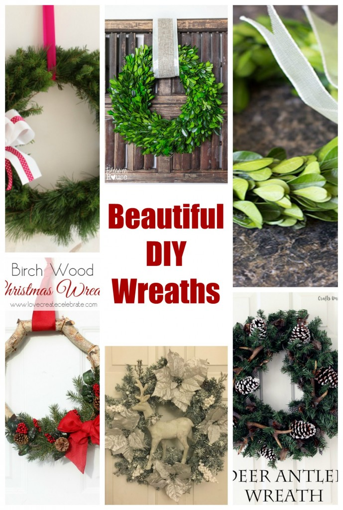 Beautiful DIY Christmas Wreaths